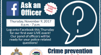 Crime Prevention Week is here, taking place from November 5-11, 2017. This week is an opportunity for police services across Ontario to raise awareness and […]