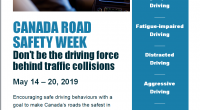 As part of Canada Road Safety Week, the Timmins Police Service is taking an active role in addressing the common driving behaviors that lead to […]