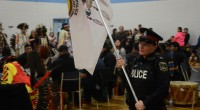 Timmins Police Service proudly took part in the Northern College Pow Wow opening ceremonies on Saturday, April 23rd. Constable Kathryn BEATTY proudly hoists the Timmins […]