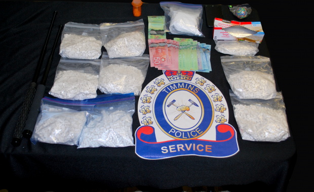 On November 16, 2017, officers with the Timmins Police Service's Drug Enforcement Unit with assistance from uniform patrol executed a search warrant at a residence […]
