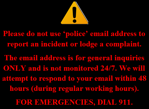 EMAIL CAUTION