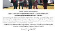 The Timmins Police Service's Aboriginal Advisory Committee (AAC) is extending an invitation to the general public to attend a viewing of First Contact. This video […]