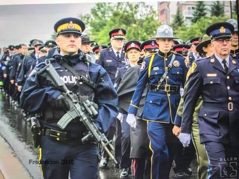 With reserved pride, representatives from the Timmins Police Service attended this weekend's regimental funeral for Constable Sarah Burns and Constable Robb Costello of the Fredericton […]