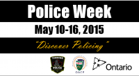 "The Timmins Police Service would like to invite the community to ""Discover Policing"" during Police Week, taking place from May 10-16. Each year, Police Week […]"