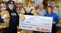 The 2017 Tim Hortons D.A.R.E. Smile Cookie campaign has once again broken a fundraising record, with a total of $34,236 raised for D.A.R.E programming in […]