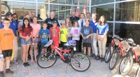 "The Timmins Police Service – Community Policing Section hosted the culmination of the annual ""Build a Bike"" campaign at the police station today. In its […]"