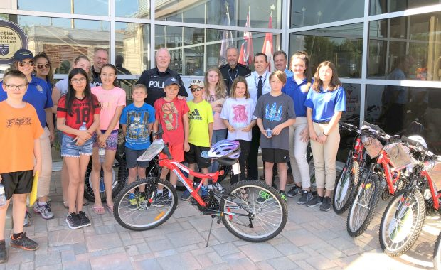 """The Timmins Police Service – Community Policing Section hosted the culmination of the annual """"Build a Bike"""" campaign at the police station today. In its […]"""