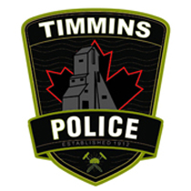 Timmins Police shoulder flash